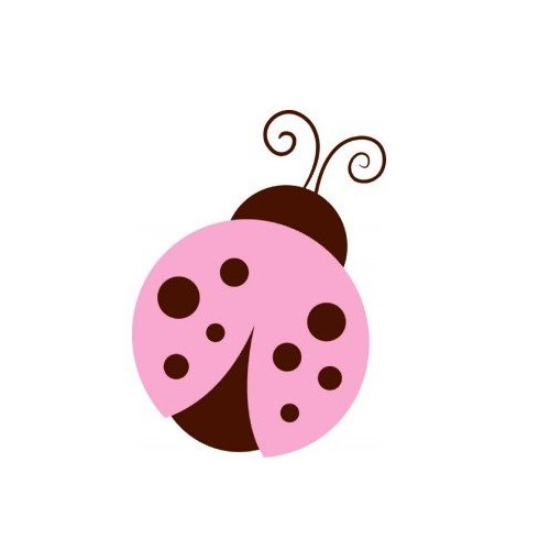 Pink Ladybugs Clipart Pink And Green Ladybug Clipart