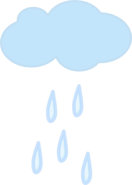 Single Rain Cloud Clip Art   Vector Clip Art Online Royalty Free