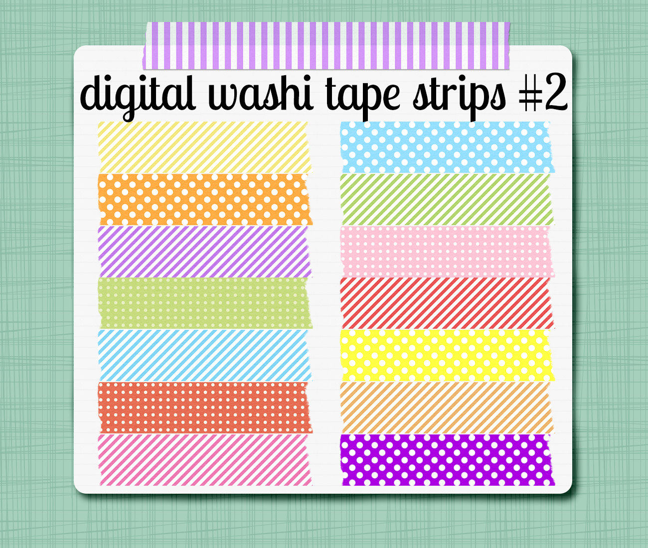 Tape Strip Clipart - Clipart Kid
