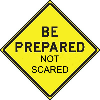Be Prepared   Not Scared   Faubourg St  Johnfaubourg St  John