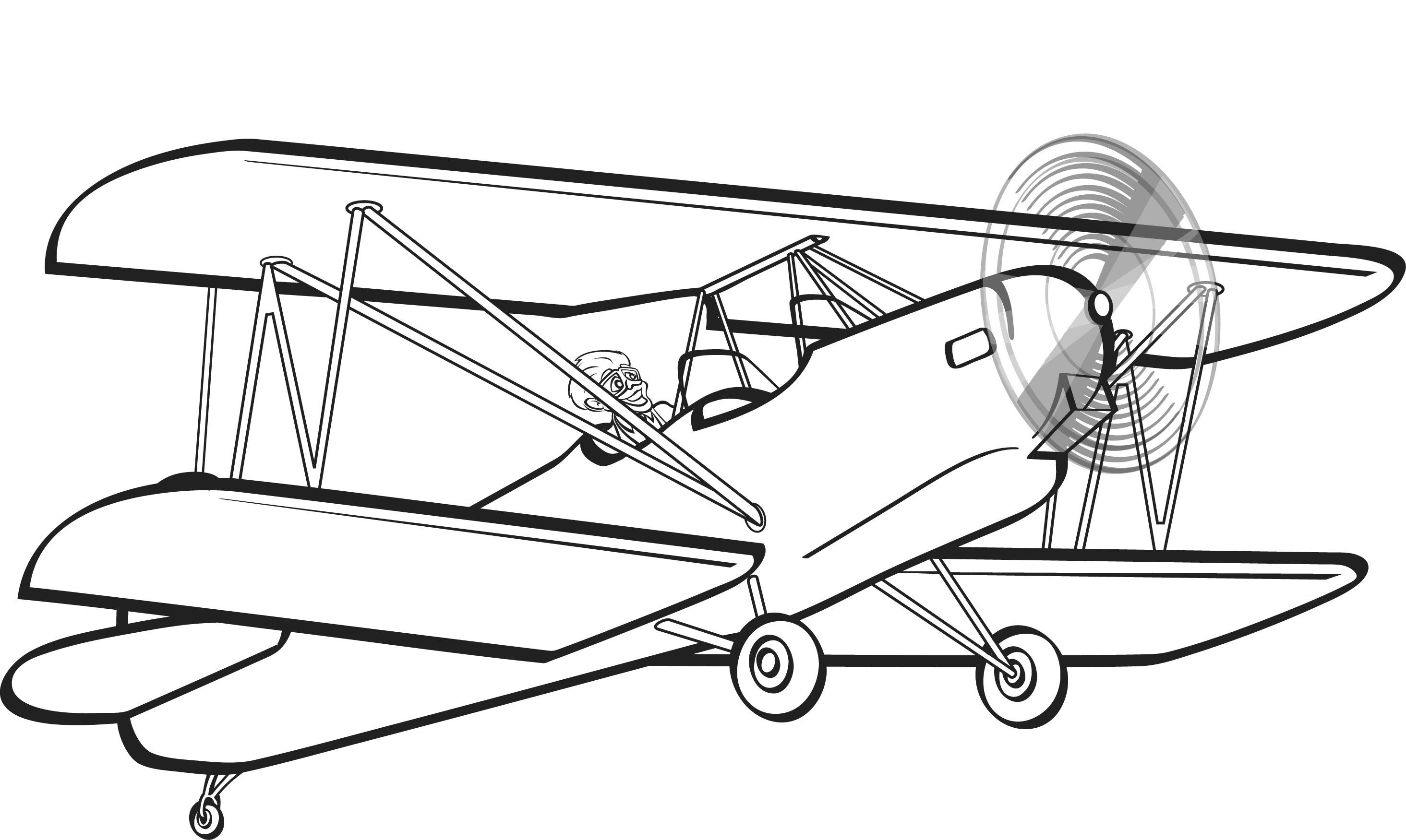 Clip Art Biplane Clipart biplane clipart kid clipar