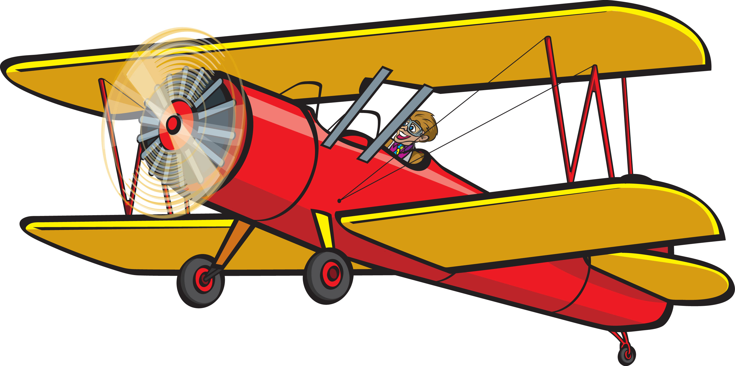 Clip Art Biplane Clipart biplane clipart kid clip art signs and posters