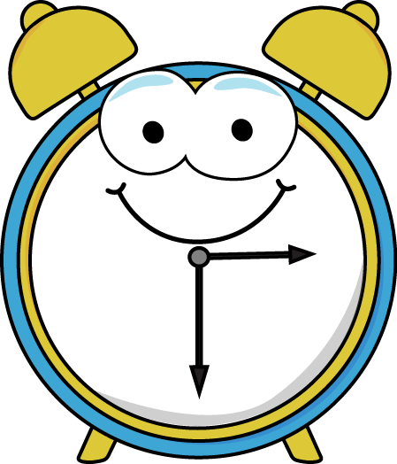 Cartoon Alarm Clock Clip Art Image   Alarm Clock With A Fun Cartoon