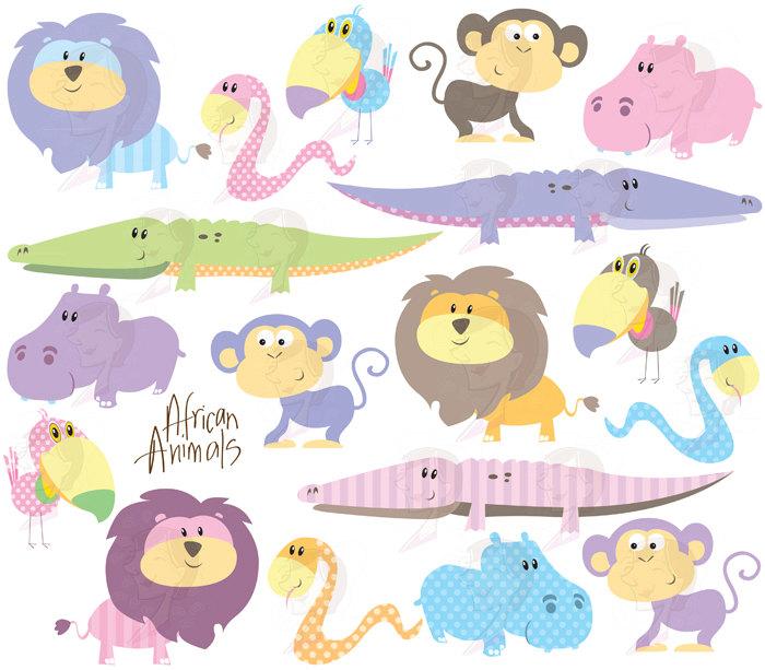 Cute Baby Animal Flames Clipart - Clipart Kid
