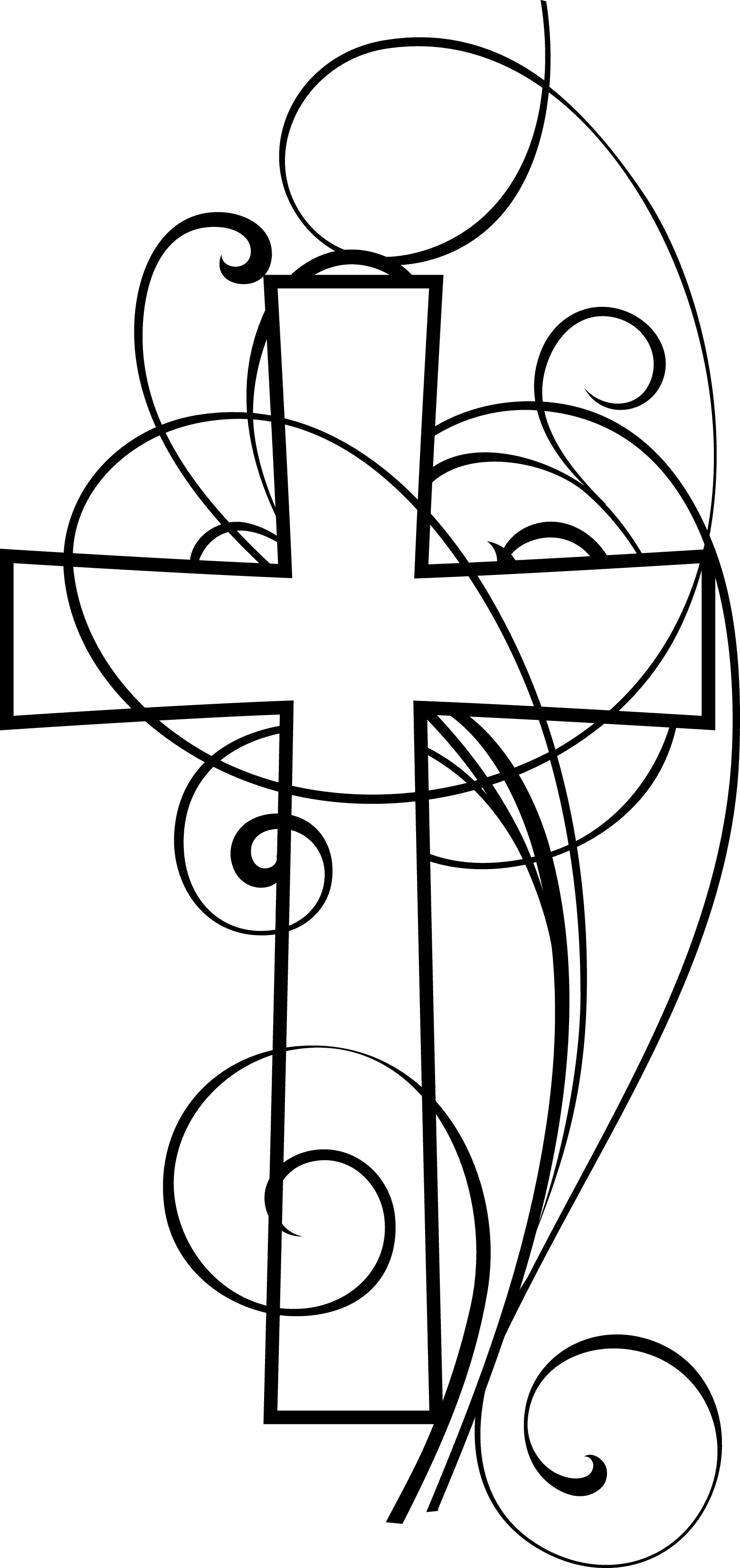 Christian Clip Art Black And White   Clipart Best