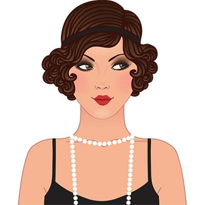 1920s Party Clipart