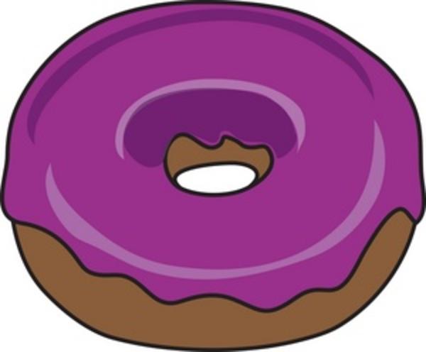 cartoon donut clipart clipart suggest