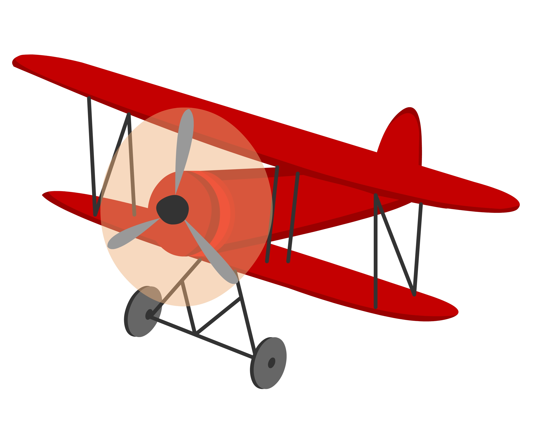 Biplane Clipart - Clipart Kid