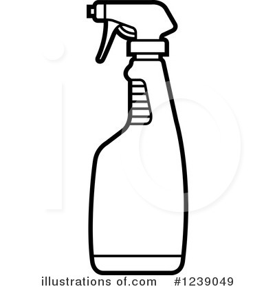 Cleaning bottles clip art - photo#20