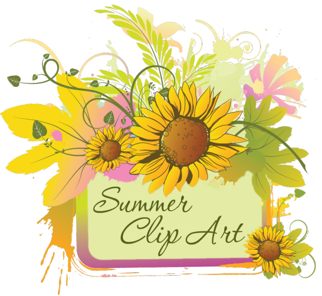 Summer Clip Art Of June July And August Graphics