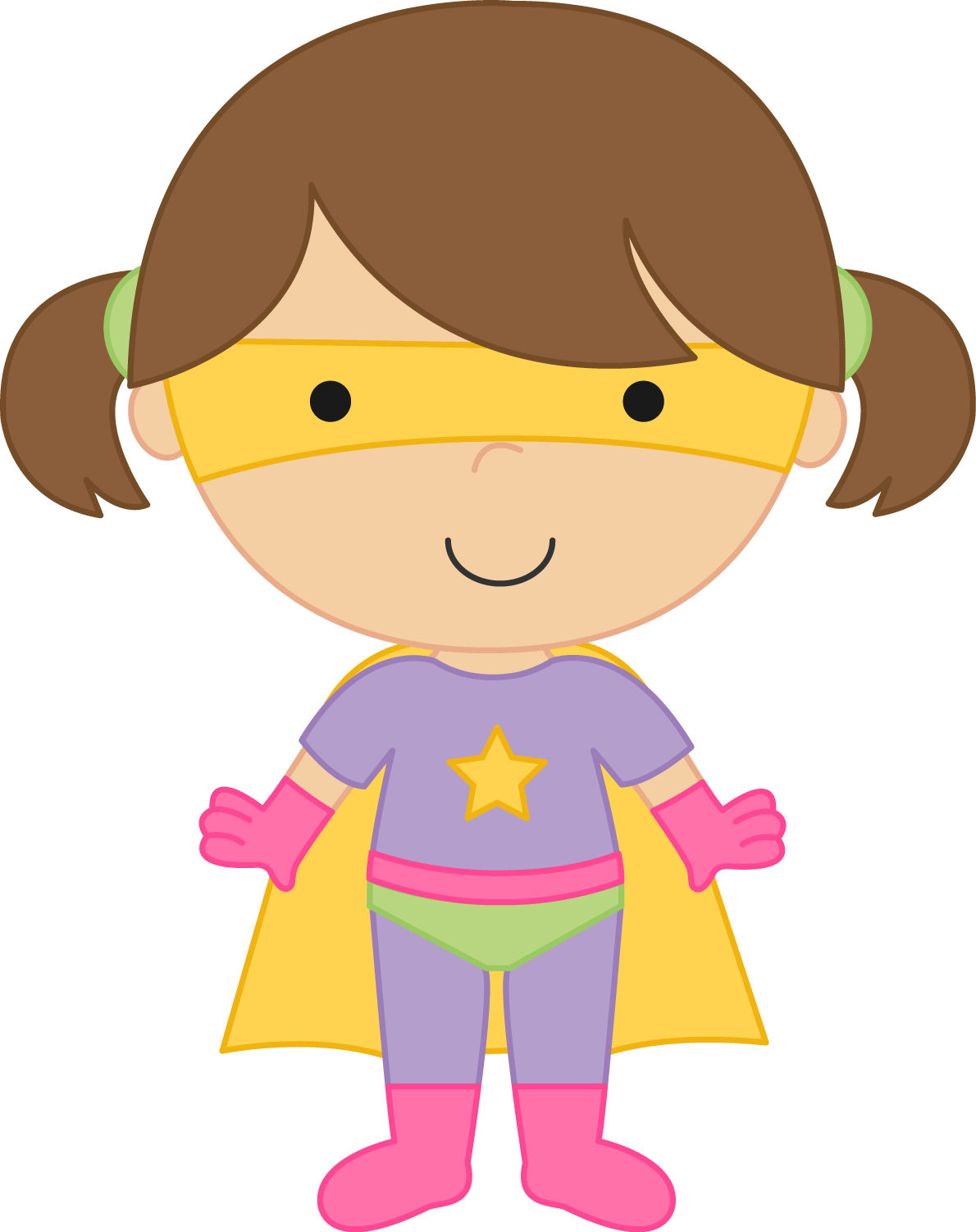 Supergirl Clipart - Clipart Kid