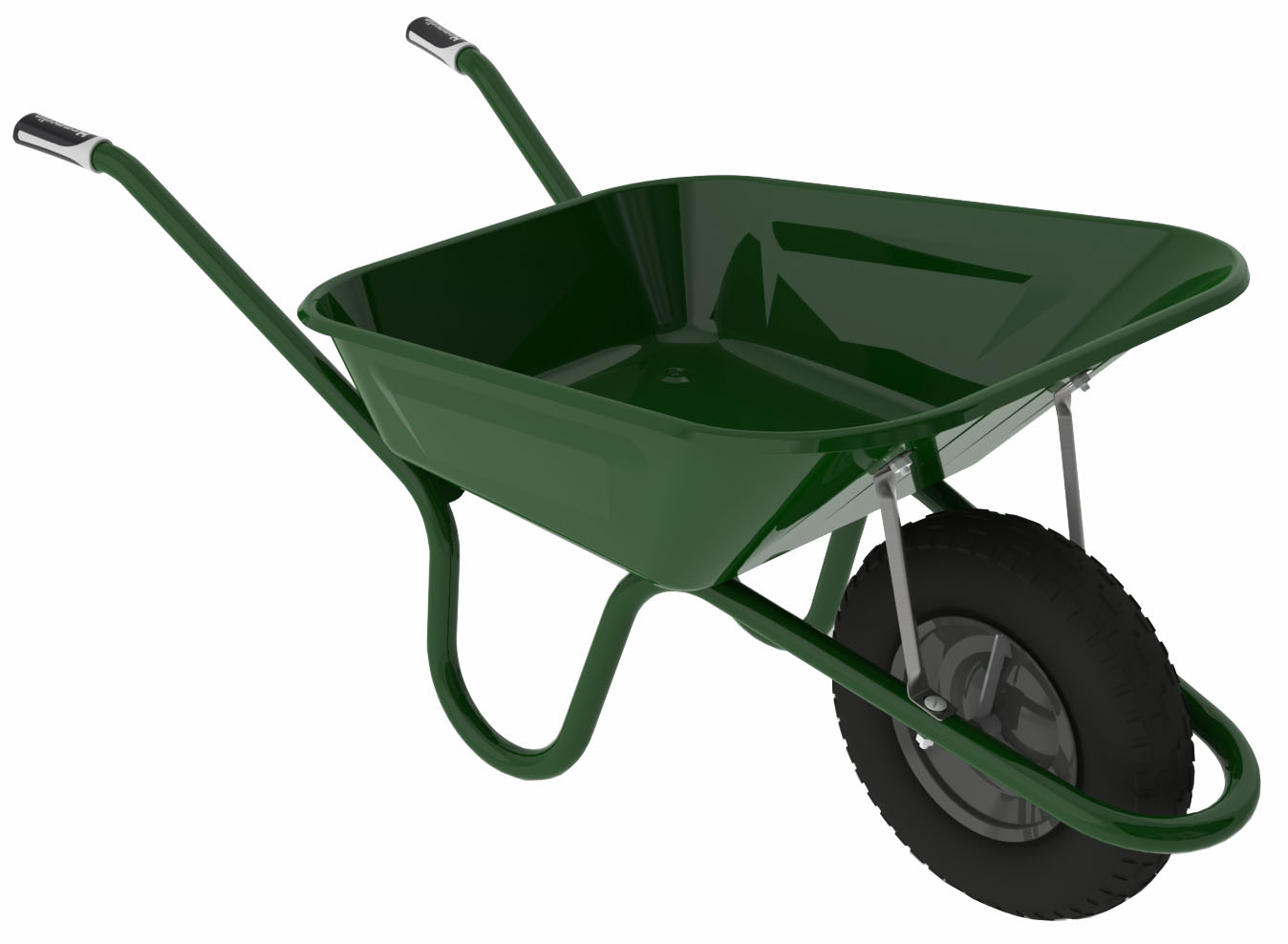 Wooden Wheelbarrow Clipart