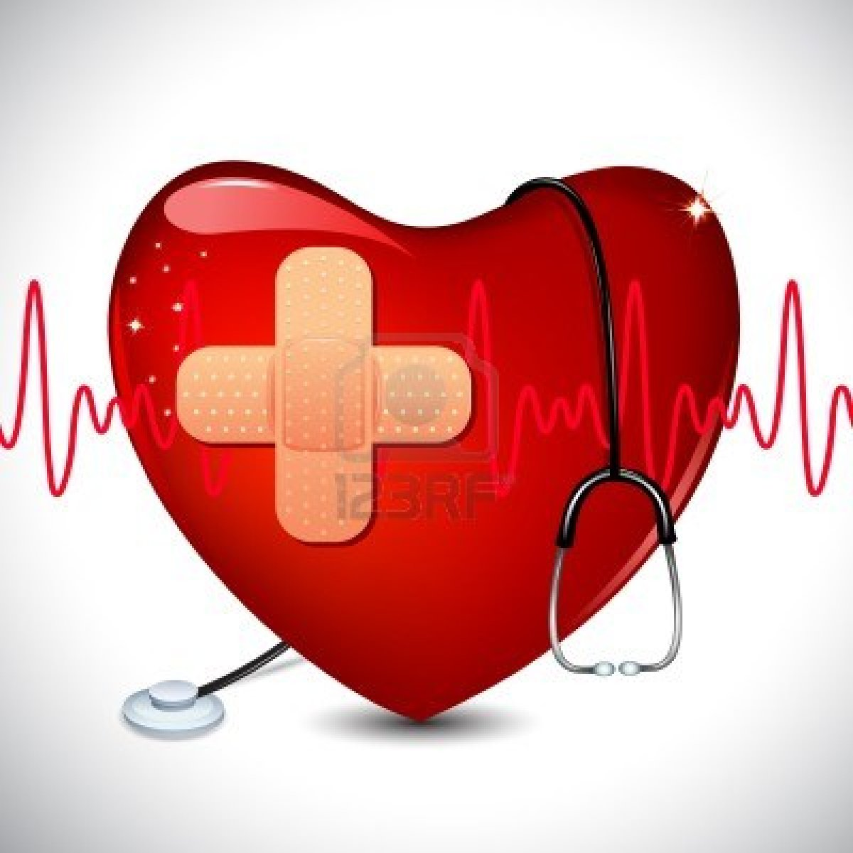 free medical heart clipart - photo #44