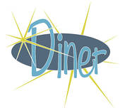 Diner   Clipart Graphic