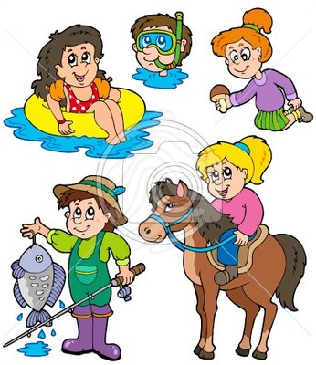 Doing Activities Clipart   Cliparthut   Free Clipart
