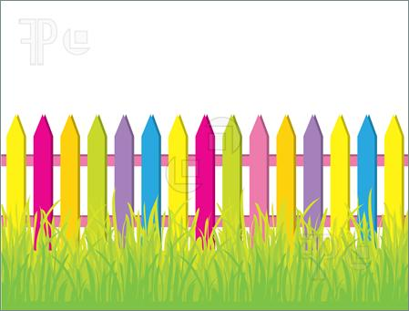 Fence Clipart Fence Border Clipart Fence