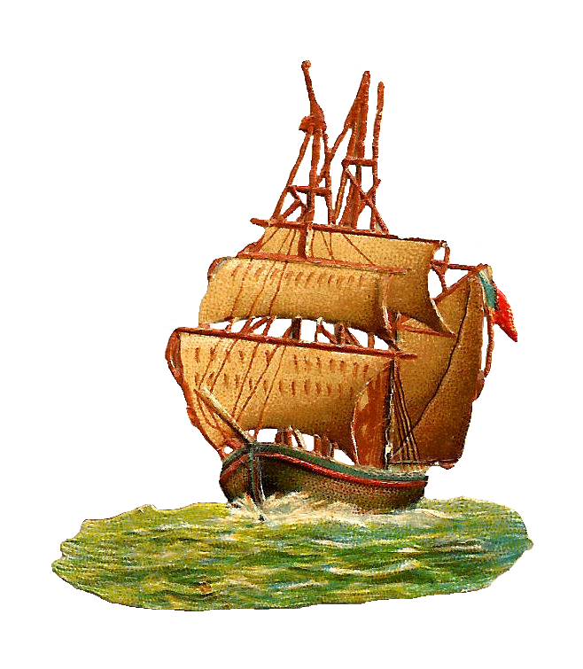 clip art sailing ship-#31