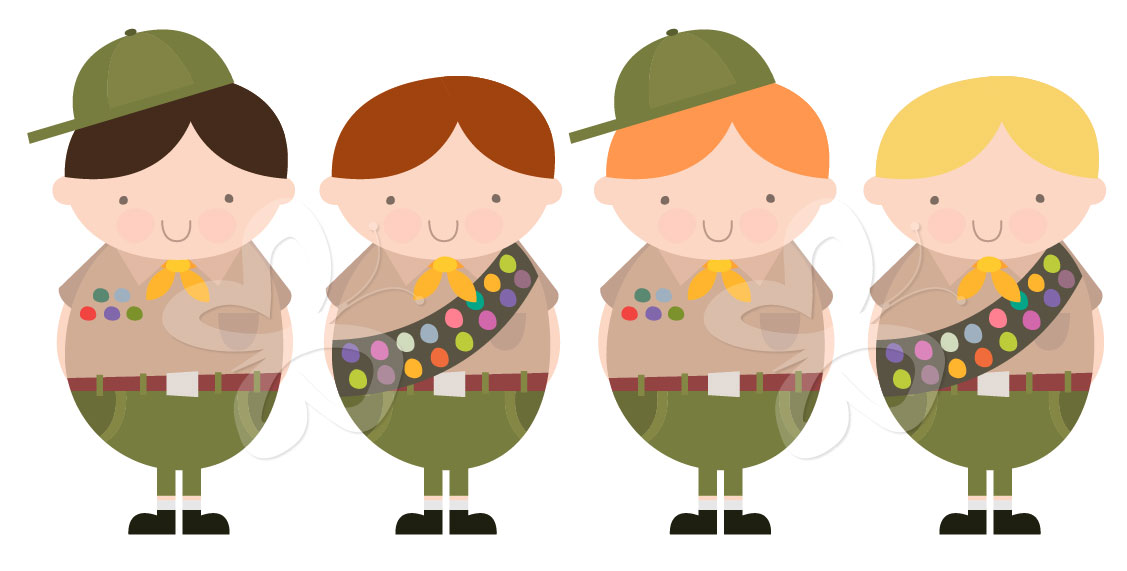 Gallery For   Boy Scout Lashing Clip Art