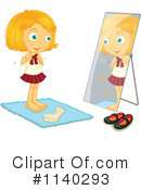 Getting Dressed Icon Clipart