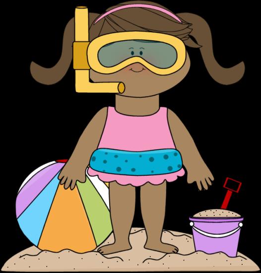 Summer At The Beach Clipart