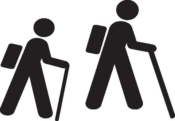Image result for backpacking stick figures
