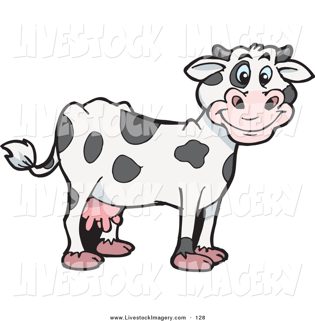 Holstein Dairy Cow Clipart - Clipart Kid