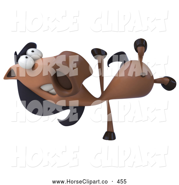Horse Character Doing A Hand Stand Horse Clip Art Julos