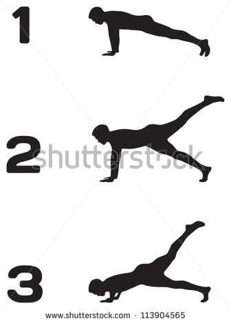 How To Do A Wall Push Up Clip Art