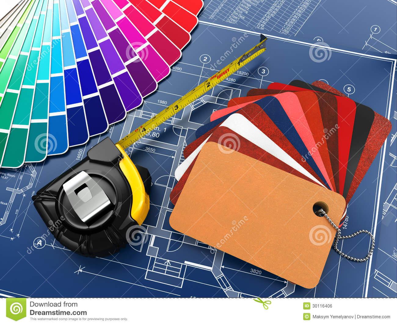 Interior Design Tools Clipart