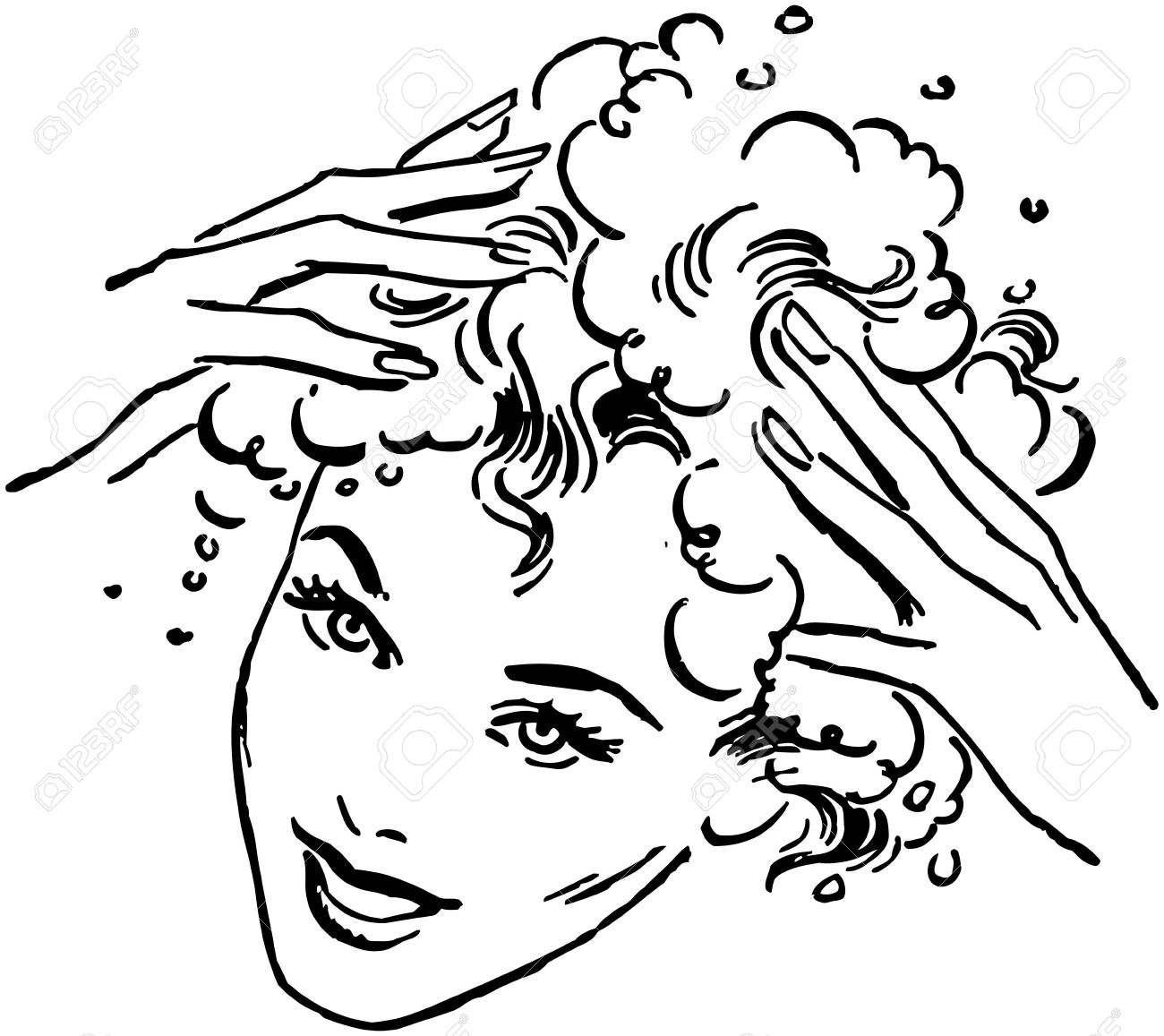 shampoo matizador sache coloring pages - photo#21
