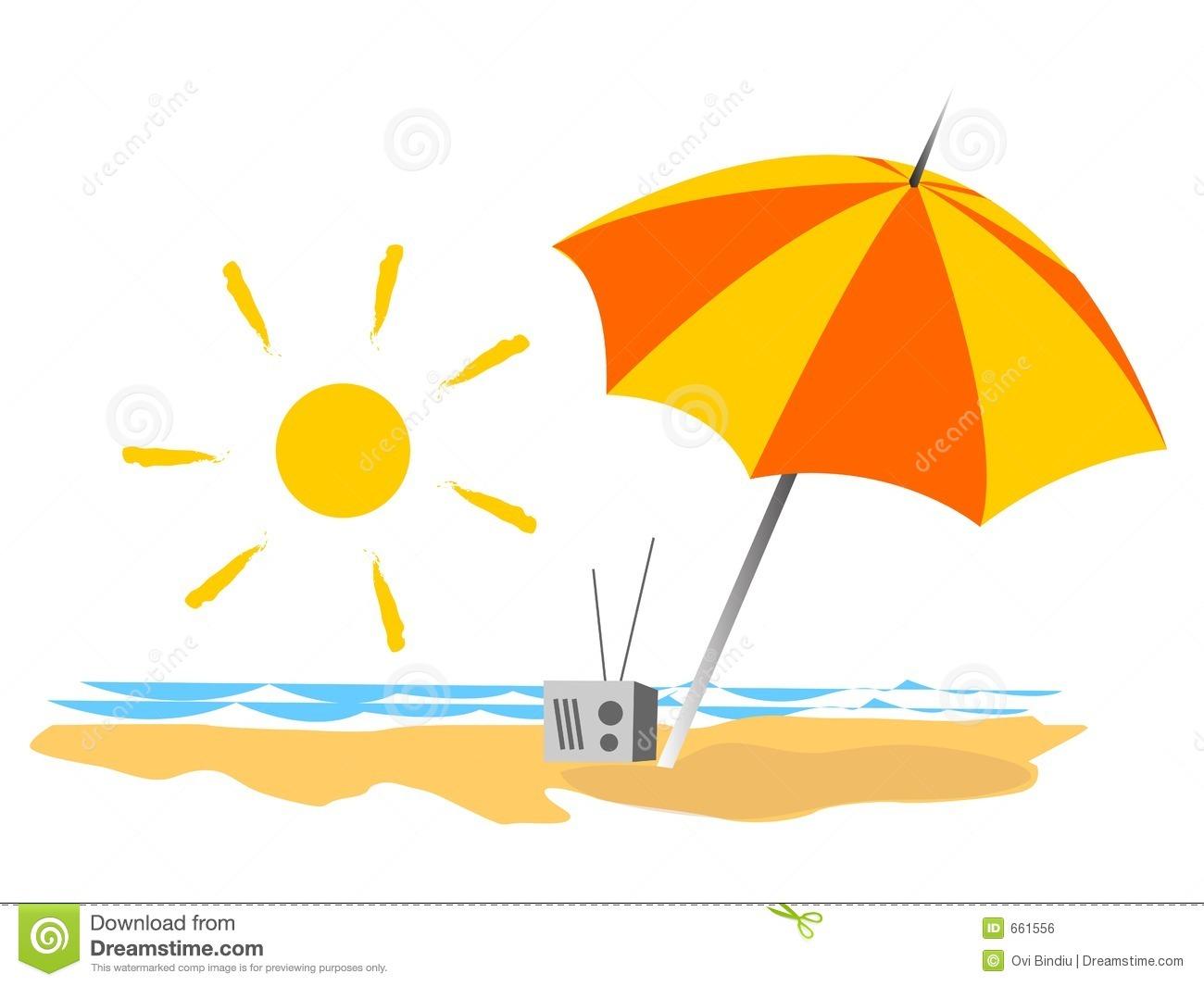 Summer At The Beach Clipart - Clipart Kid