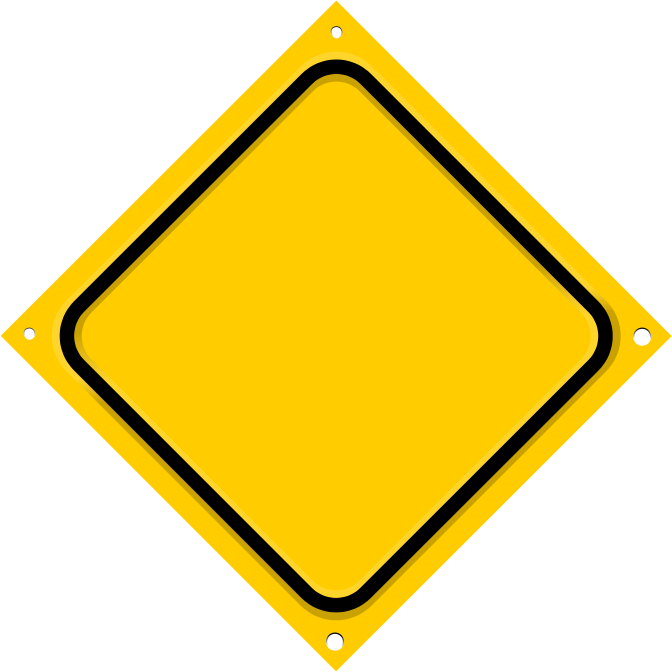 Road Sign Diagonal Blank   Http   Www Wpclipart Com Blanks Road Signs