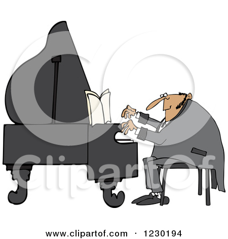 Royalty Free Piano Illustrations By Djart Page 1
