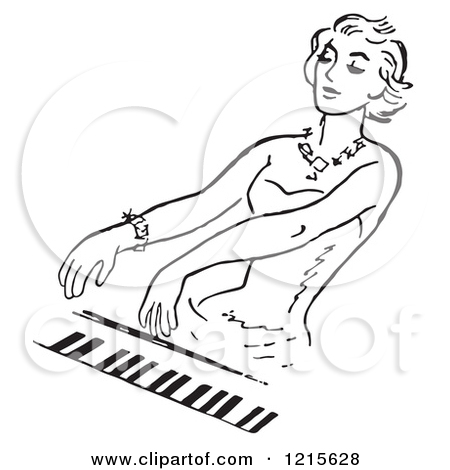 Royalty Free  Rf  Piano Clipart Illustrations Vector Graphics  1