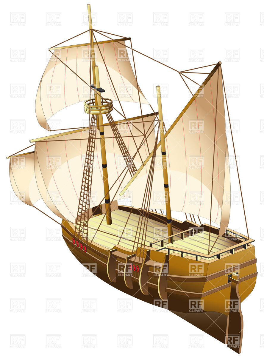 Sailing Ship Clipart - Clipart Suggest