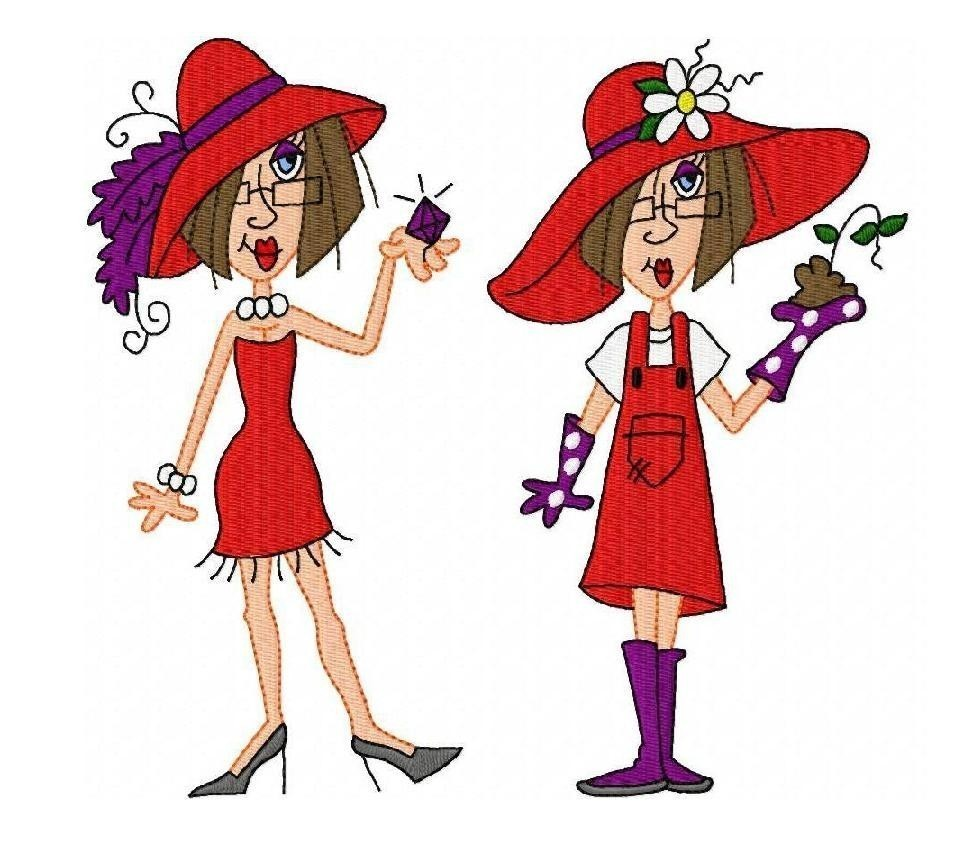 Back   Gallery For   Red Hat Ladies Clip Art