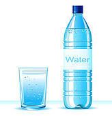 Bottled Water Clipart Royalty Free  3199 Bottled Water Clip Art
