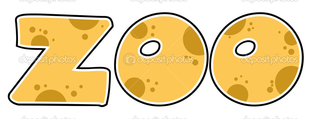 Zoo Word Clipart