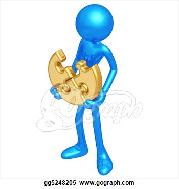 Clip Art   3d Concept And Presentation Figure  Stock Illustration