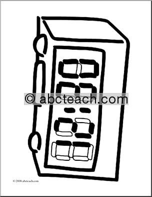 Minute Digital Timer Clipart - Clipart Kid