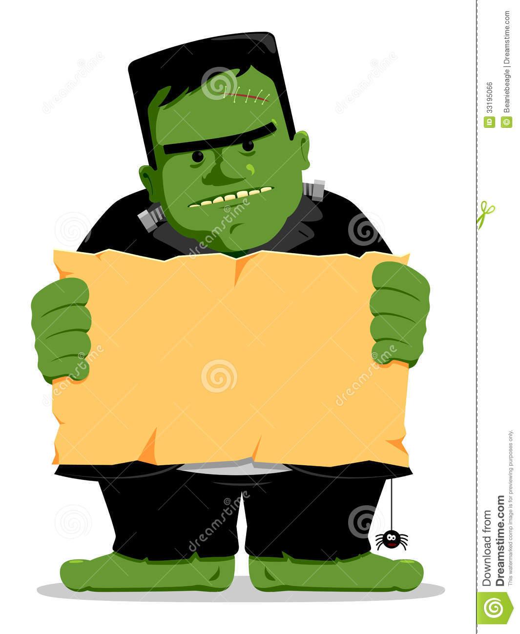 Cute Frankenstein Clipart - Clipart Suggest