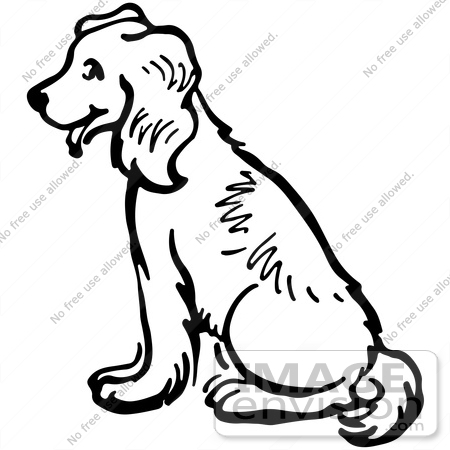 Clip Art Black And White Dogs 3 Clipart - Clipart Suggest