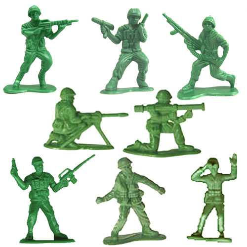 Green Army Men   Happenings On The Hill