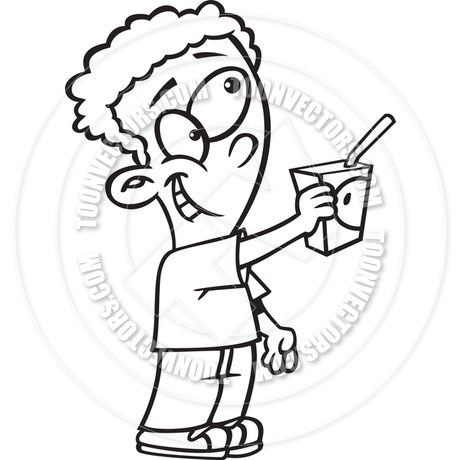 Juice Clip Art Black And White
