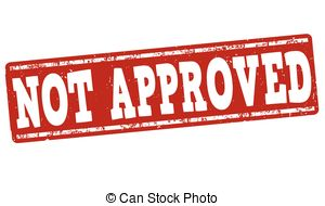 Not Approved Clipart Vector And Illustration  146 Not Approved Clip