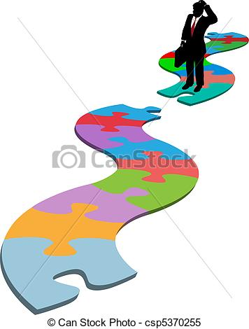 People Carrying Puzzle Pieces Clipart   Cliparthut   Free Clipart