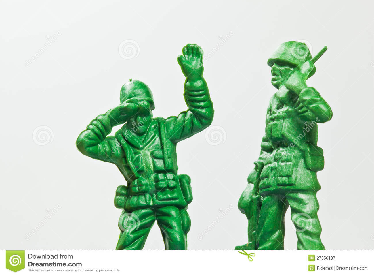 The Green Toy Soldier Royalty Free Stock Photography   Image  27056187