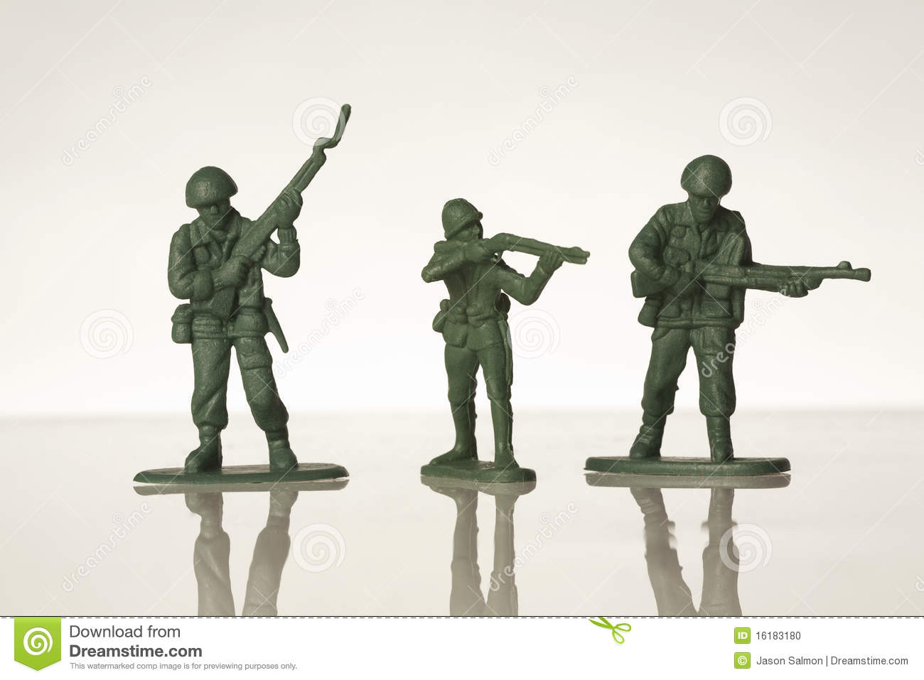Toy Soldiers Stock Photo   Image  16183180