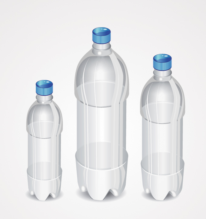 Vectors Free Vector Art Isolated Pet Bottle Plastic Plastic Bottles