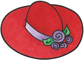 Your Source For Everything About Free Red Hat Society Clip Art